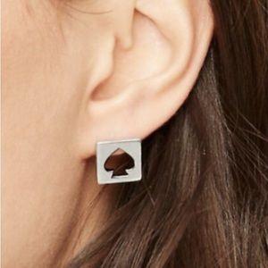 Kate Spade Logo Earrings